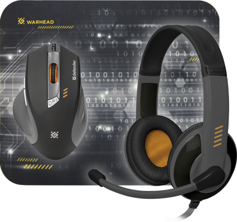 Мышь проводная Defender Warhead MPH-1500 чёрный USB гарнитура defender warhead g 170 черный 64114