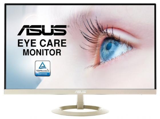 Монитор 27 ASUS VZ27AQ черный IPS 2560x1440 250 cd/m^2 5 ms HDMI DisplayPort VGA Аудио vz27aq