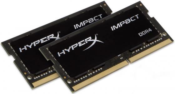 Оперативная память для ноутбука 16Gb (2x8Gb) PC4-19200 2400MHz DDR4 SO-DIMM CL14 Kingston HX424S14IB2K2/16