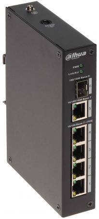 Купить Коммутатор Dahua DH-PFS3106-4P-60 4 порта PoE