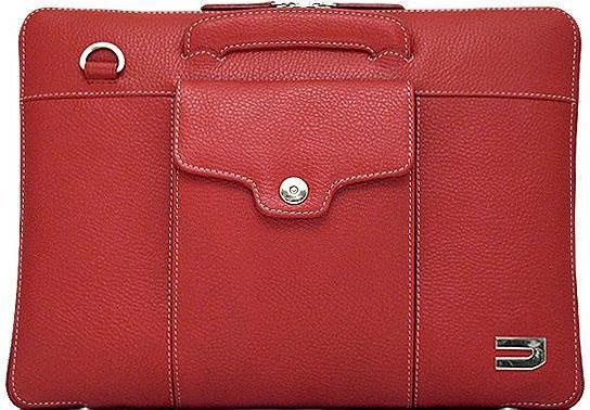 купить Сумка для ноутбука MacBook Pro 13 Urbano Compact Brief кожа красный UZRB2016-13-04 онлайн