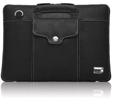 купить Сумка для ноутбука MacBook Pro 13 Urbano Compact Brief кожа черный UZRB2016-13-01 онлайн