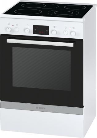 Электрическая плита Bosch HCA644220R белый плита электрическая kaiser hc 52010 r moire