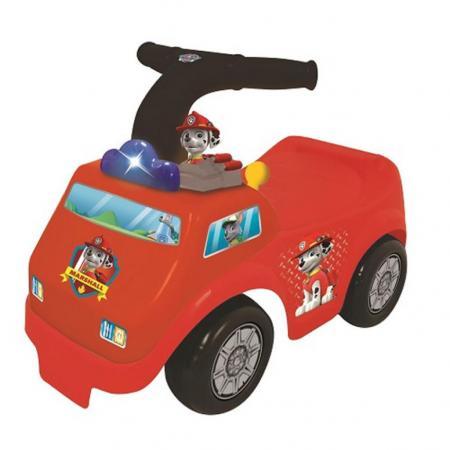 Каталка-пушкар Kiddieland Пожарная машина Щенячий патруль пластик от 1 года музыкальная красный каталка пушкар щенячий патруль маршал kiddieland