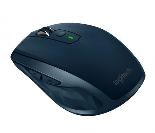 Мышь беспроводная Logitech Anywhere 2 Mouse MX синий USB + Bluetooth мышь беспроводная logitech anywhere 2s mouse mx синий usb bluetooth 910 005154