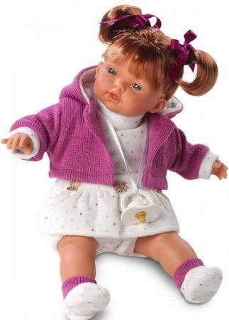 Кукла Llorens Алиса 33 см со звуком L 33268 llorens кукла 48 см llorens