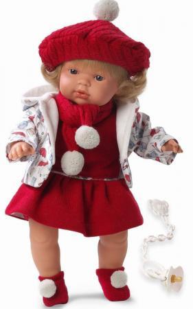 Кукла Llorens Клавдия (38536) 38 см со звуком куклы и одежда для кукол llorens кукла клавдия 38 см со звуком