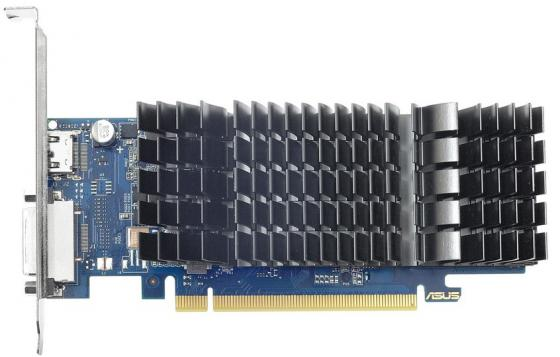 Видеокарта 2048Mb Asus GeForce GT1030 PCI-E GDDR5 64bit HDMI DVI HDCP GT1030-SL-2G-BRK Retail видеокарта asus geforce gt 710 2 sl 954mhz pci e 2 0 2048mb 1800mhz 64 bit dvi hdmi hdcp