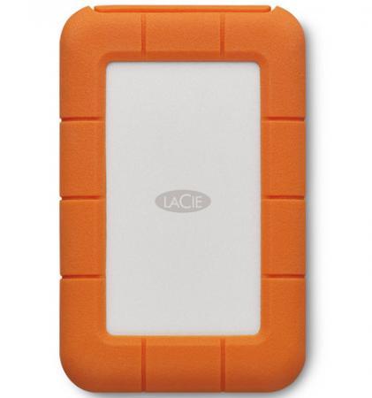 Внешний жесткий диск 2.5 Thunderbolt USB C 5Tb Lacie Rugged STFS5000800 оранжевый lacie rugged mini 2tb внешний жесткий диск