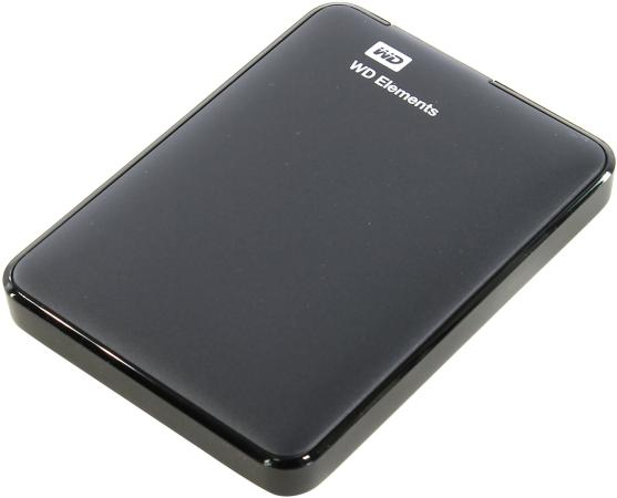 "Внешний жесткий диск 2.5"" USB3.0 1 Tb Western Digital Elements Portable WDBUZG0010BBK-WESN черный"