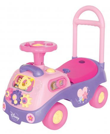 Каталка-пушкар Kiddieland Принцесса с шестеренками пластик от 1 года на колесах розовый каталка kiddieland танцующая принцесса