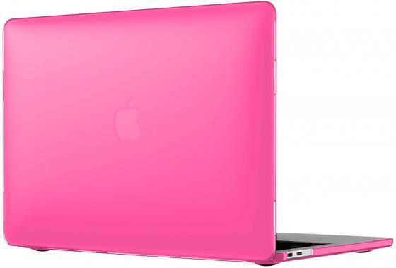 Чехол-накладка для ноутбука MacBook Pro 13 Speck SmartShell пластик розовый 90206-6011 чехол для ноутбука macbook pro 13 speck smartshell glitter пластик прозрачный 90207 5636