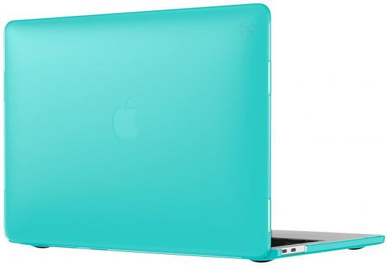 Чехол-накладка для ноутбука MacBook Pro 13 Speck SmartShell пластик синий 90206-B189 чехол для ноутбука macbook pro 13 speck smartshell glitter пластик прозрачный 90207 5636