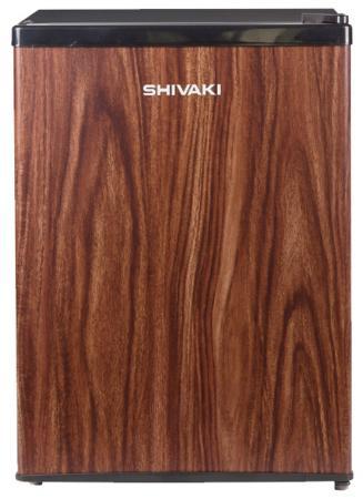Холодильник SHIVAKI SDR-062T коричневый холодильник shivaki shrf 54ch