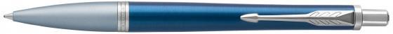 Шариковая ручка автоматическая Parker Urban Premium K310 Dark Blue CT синий M 1931565 parker ручка шариковая urban premium цвет футляра зеленый цвет чернил синий