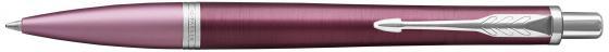 Шариковая ручка автоматическая Parker Urban Premium K310 Dark Purple CT синий M 1931569 ручка шариковая parker urban premium dark blue ct 1931565