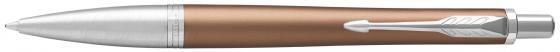 Шариковая ручка автоматическая Parker Urban Premium K311 Orange CT синий M 1931627 перьевая ручка parker urban premium f310 dark blue ct синий f 1931563