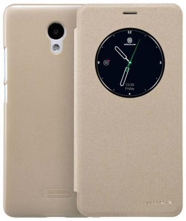 Чехол Nillkin для Meizu M5 Note золотистый 6902048135284 смартфон meizu m5 note m621h 16gb серый