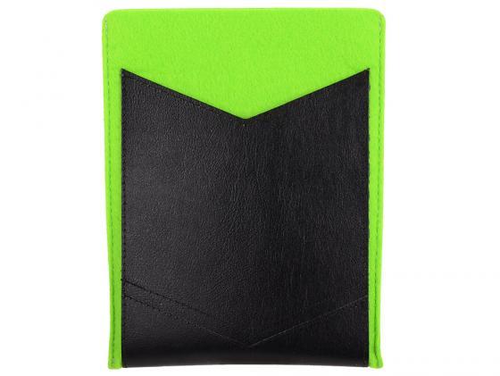 Чехол IQ Format универсальный для планшетов 8 зеленый/черный