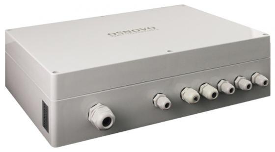 Коммутатор Osnovo SW-60602/WLC 6 портов 10/100Mbps коммутатор osnovo sw 10800 i ver 2 неуправляемый 8 портов 10 100mbps