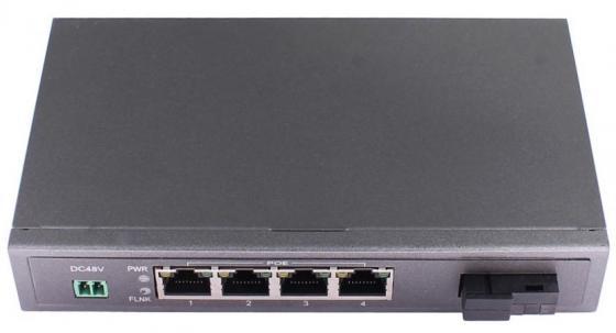 Коммутатор Osnovo SW-40401S5b/A 4 порта 10/100Mbps заклепочник литой gross 40401
