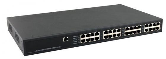 Инжектор OSNOVO Midspan-16/250RGM PoE 16 портов максимальная выходная мощность 250 Вт коммутатор zyxel gs1100 16 gs1100 16 eu0101f