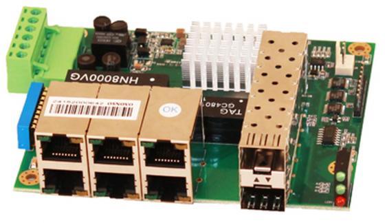 Коммутатор Osnovo SW-50602/I-P неуправляемый 6 портов 10/100Mbps 2xSFP коммутатор osnovo sw 10800 i ver 2 неуправляемый 8 портов 10 100mbps