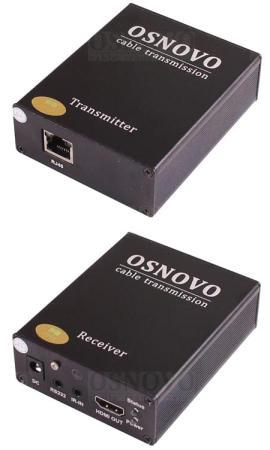купить Комплект для передачи HDMI-сигналов Osnovo TLN-Hi/1+RLN-Hi/1 дешево