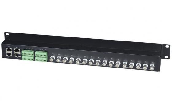Фото - Приемопередатчик видеосигнала SC&T TPP016HD пассивный 16-канальный приемопередатчик аудиосигнала sc