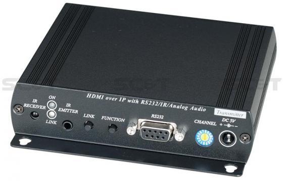 Передатчик SC&T HE05BT HDMI + Analog Audio до 150м