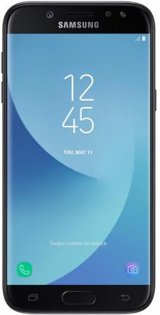 Смартфон Samsung Galaxy J5 2017 черный 5.2 16 Гб NFC LTE Wi-Fi GPS 3G SM-J530FZKNSER смартфон alcatel onetouch ot6055k idol 4 серый 5 2 16 гб nfc lte wi fi gps 3g