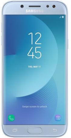 Смартфон Samsung Galaxy J5 2017 голубой 5.2 16 Гб LTE NFC Wi-Fi GPS 3G SM-J530FZSNSER смартфон asus zenfone live zb501kl золотистый 5 32 гб lte wi fi gps 3g 90ak0072 m00140