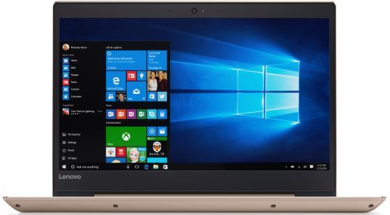 Lenovo IdeaPad 520S-14IKB 14(1920x1080 (матовый))/Intel Core i5 7200U(2.5Ghz)/8192Mb/256SSDGb/noDVD/Ext:nVidia GeForce 940MX(2048Mb)/Cam/BT/WiFi/52WHr/war 1y/1.7kg/gold/W10 + IPS 80X2000VRK lenovo ideapad 710s plus 13isk [80vu003lrk] gold 13 3 fhd i5 6200u 8gb 256gb ssd nodvd w10