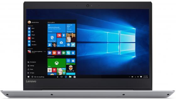Ноутбук Lenovo IdeaPad 520S-14IKB 14 1920x1080 Intel Core i7-7500U 512 Gb 8Gb nVidia GeForce GT 940MX 2048 Мб серый Windows 10 Home 80X2000XRK ноутбук lenovo deapad 310 15 6 1920x1080 intel core i3 6100u 500gb 4gb nvidia geforce gt 920mx 2048 мб серебристый windows 10 80sm00vqrk