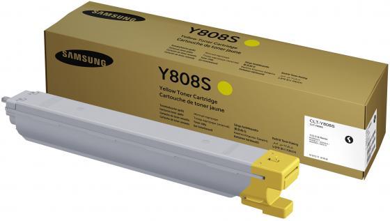 Картридж Samsung CLT-Y808S для SL-X4300LX желтый
