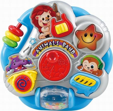 Развивающая игрушка PLAYGO Оркестр с животными 1000 набор для ванной playgo утята 2430