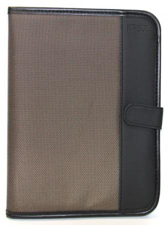 Чехол KREZ для планшетов 10 черный коричневый L10-703NM