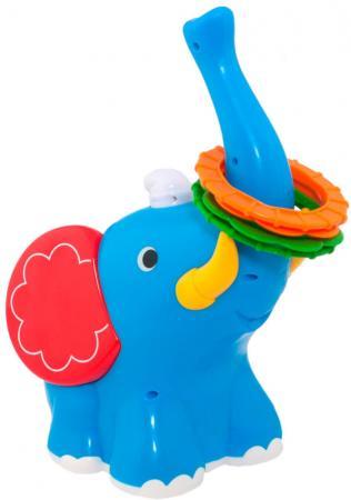 Развивающая игрушка KIDDIELAND Слон-кольцеброс 053553
