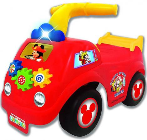 Каталка-пушкар Kiddieland Спортивная машина Микки Мауса пластик от 1 года со звуком красный мультиметр victory 890c vc890c