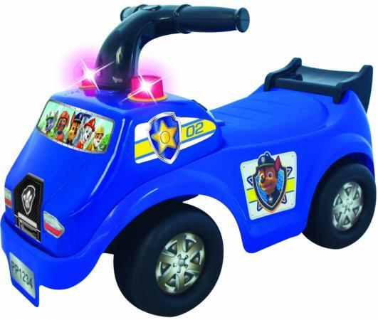 Каталка-пушкар Kiddieland Щенячий патруль Гонщик- полицейский пластик от 1 года со звуком синий каталка пушкар щенячий патруль маршал kiddieland