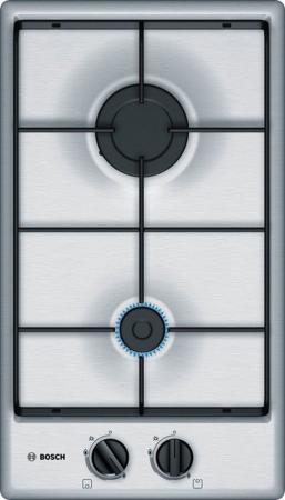 Варочная панель газовая Bosch PGB3B5B80 серебристый газовая варочная панель bosch pps7a6m90