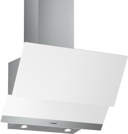 Вытяжка каминная Bosch DWK065G20R белый вытяжка каминная bosch dww09w420 белый