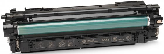 Картридж HP 655A CF452A для HP LaserJet Enterprise M652 M653 M681 M682 желтый