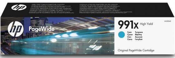 Картридж HP 991X M0J90AE для HP PageWide Pro 772dn 777z 750dw голубой мфу hp pagewide pro 477dw