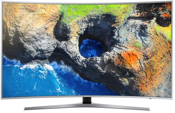 Телевизор 65 Samsung UE65MU6500UX серебристый 3840x2160 100 Гц Wi-Fi Smart TV RJ-45 Bluetooth телевизор led 65 samsung qe65q7camux серебристый 3840x2160 wi fi smart tv rs 232c