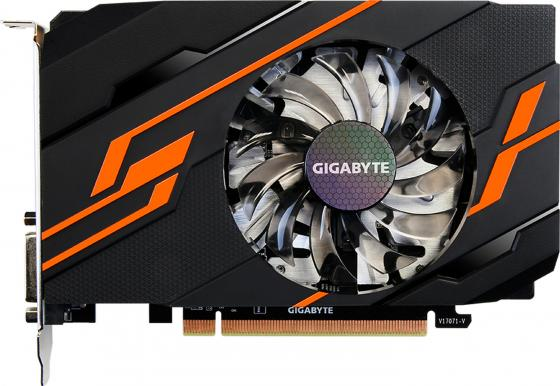 Видеокарта 2048Mb Gigabyte GeForce GT1030 PCI-E DDR5 64bit DVI HDMI HDCP GV-N1030OC-2GI Retail видеокарта 2048mb gigabyte gt730 pci e gddr5 64bit vga hdmi dvi hdcp gv n730d5 2gi retail