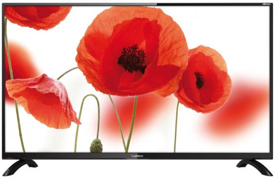 Телевизор LED 32 Telefunken TF-LED32S43T2 черный 1366x768 50 Гц USB SCART VGA телевизор led 32 telefunken tf led32s61t2 черный 1366x768 50 гц usb scart vga
