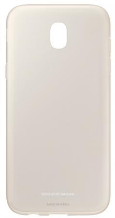Чехол Samsung EF-AJ530TFEGRU для Samsung Galaxy J5 2017 Jelly Cover золотистый