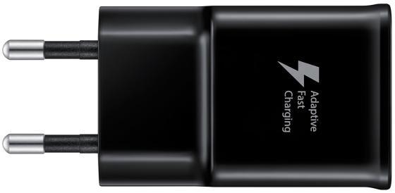 Сетевое зарядное устройство Samsung EP-TA20EBECGRU 2А USB черный сетевое зарядное устройство apple usb мощностью 5 вт md813zm a