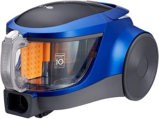 Пылесос LG VK76A09NTCB сухая уборка голубой металлик пылесос lg vk76a09ntcr